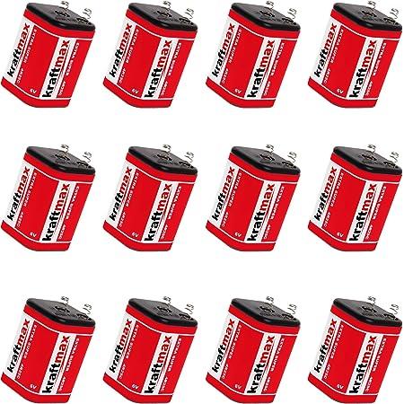 12x Kraftmax 4r25 Batterie Block 6v Elektronik