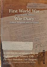 32 DIVISION 14 Infantry Brigade Highland Light Infantry 15th (Service) Battalion (1st Glasgow) : 1 October 1917 - 31 March 1919 (First World War, War Diary, WO95/2393B)