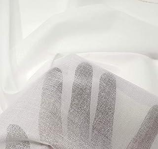 (2mts) Fliselina entretela termoadhesiva fina coor blanco de