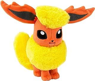 TOMY Pokemon Plush Figure Flareon 20 cm Peluches