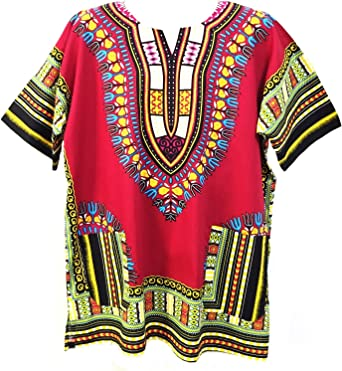 Camisa estilo Dashiki Vipada Handmade, para hombre, estilo Dashiki africano. Tamaño grande