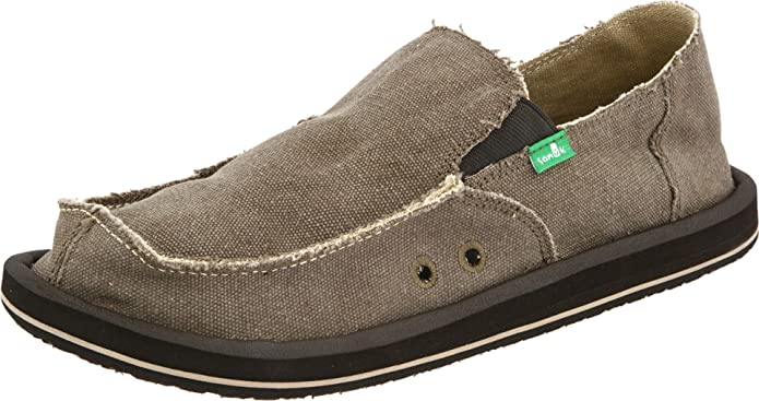 Sanuk Rounder Hobo Slub Mens  Casual Shoes Brown