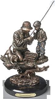 DEMDACO Generations Bronze Color 15 x 9.5 Hand-cast Resin Decorative Sculpture