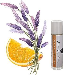 Black Cap Farm All Natural Lip Balm (Multiple Flavors Available) (Orange Lavender 4 Pack)
