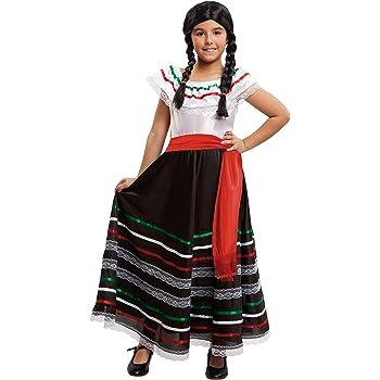 Fyasa 706476-t02 Mexican Girl disfraz, tamaño mediano: Amazon.es ...