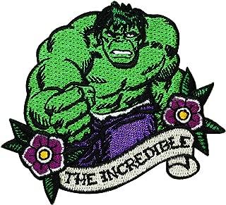 Hulk Fan The Incredible IronOn Patch Marvel Superhero Craft Apparel Applique