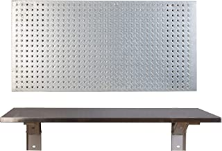 stainless steel fold down table