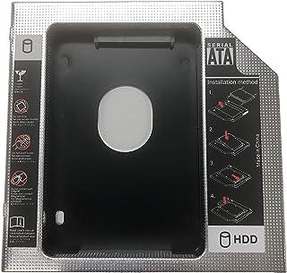 【PCATEC】2nd 12.7mmノートPCドライブマウンタ セカンド 光学ドライブベイ用 SATA/HDD 2.5インチハードディスクマウンタ SATA接続 12.7mm厚のSlimline SATAドライブを搭載したノートPC対応