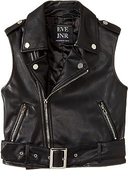 eve jnr - Vegan Leather Vest (Toddler/Little Kids)