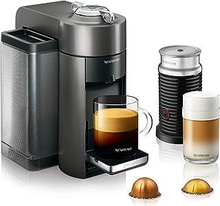 Nespresso by De'Longhi Vertuo Evoluo Coffee and Espresso Machine, Titan