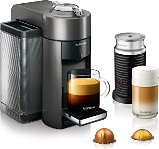 Nespresso by De'Longhi ENV135TAE Vertuo Evoluo Coffee and Espresso Machine, Titan