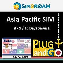 Asia Pacific China 15 Days Unlimited Prepaid Data SIM Card, Japan, China, Hong Kong, US, Australia, New Zealand, Macao, Taiwan, Singapore, Malaysia, Korea, Thailand