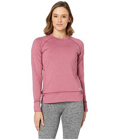 Helly Hansen Hyggen Long Sleeve (Plum) Women