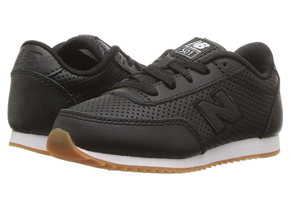 New Balance Kids KZ501v1I (Infant/Toddler) (Black/Black) Kids Shoes