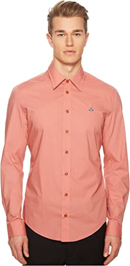 Stretch Poplin Classic Shirt
