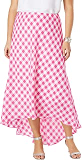 Jessica London Women's Plus Size Hi-Low Maxi Skirt