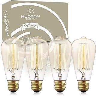60 Watt 2100K Warm White Edison Light Vintage Incandescent Edison Bulb Set