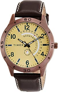 Timex Analog Beige Dial Men's Watch - TW000U930