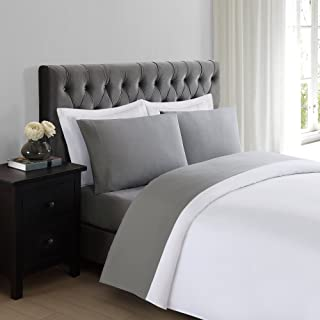 Truly Soft Sheet Sets for Everyday Use Grey Twin XL Sheet
