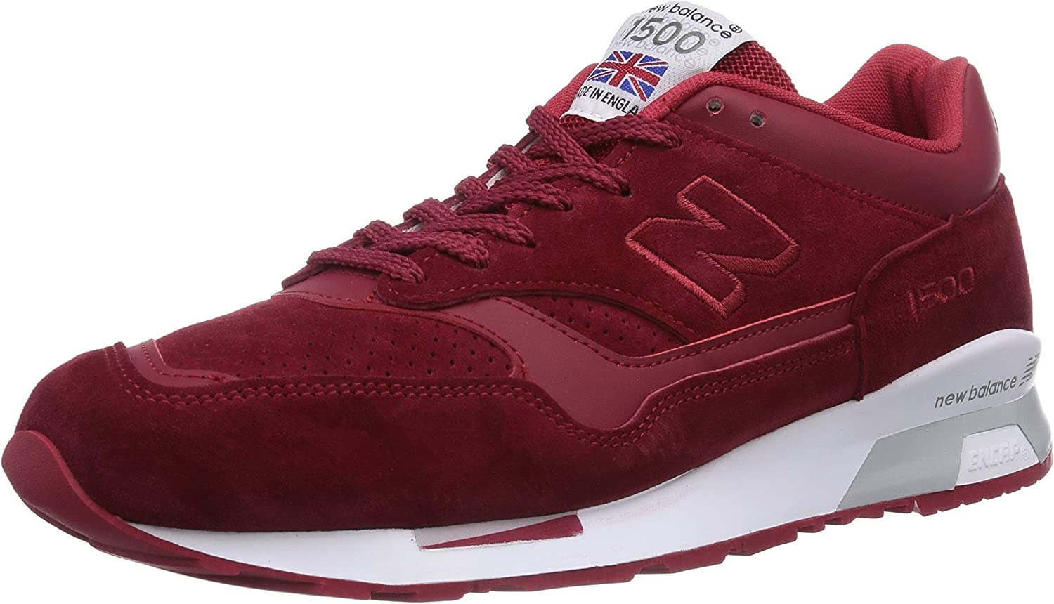 New Balance 1500, Baskets Basses Homme, Rouge (Red), 44.5 EU ...