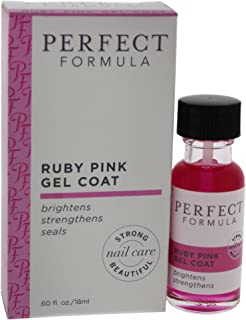 Perfect Formula Ruby Pink Gel Coat, 0.600 Fl. oz.