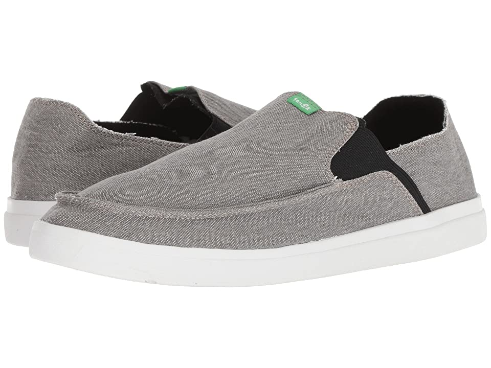 Sanuk Pick Pocket Slip-On Sneaker (Grey) Men