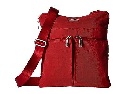 Baggallini Legacy Horizon Crossbody (Apple) Cross Body Handbags
