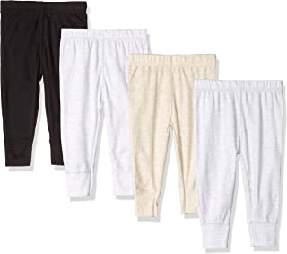 GERBER Baby Boys' 4-Pack Pants