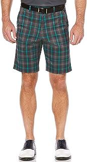 Callaway Mens Short sleeve Opti-Stretch Printed Plaid short