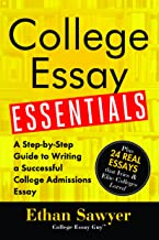 Download Book College Essay Essentials PDF