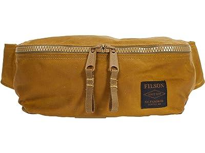 Filson Tin Cloth Waist Pack (Dark Tan) Bags