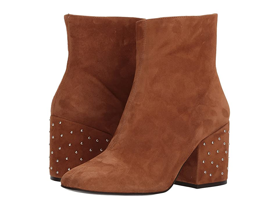 The Kooples Suede Leather Boots (Brown) Women