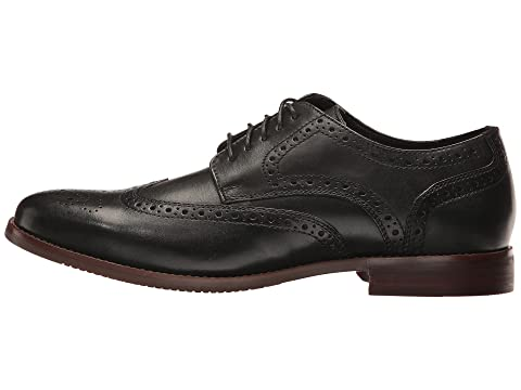De Leathertan Rockport But Noirnoir Exclusif Style Wingtip wxEq4x78