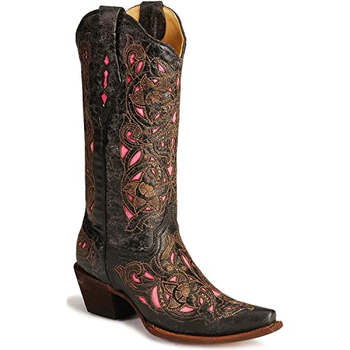ce224f69f4dda Corral Womens A1951 100% Leather Boot