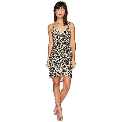 Nicole Miller Leo Silk Wrap Dress (Multi) Women