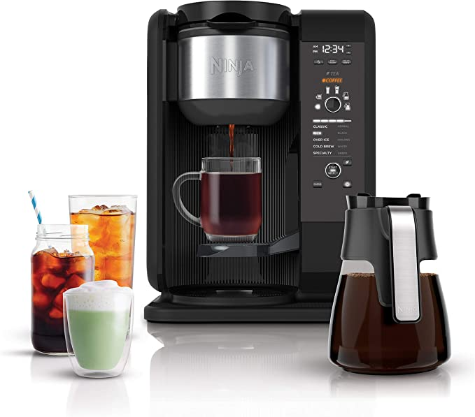 Ninja Hot and Cold single serve dual coffee makers