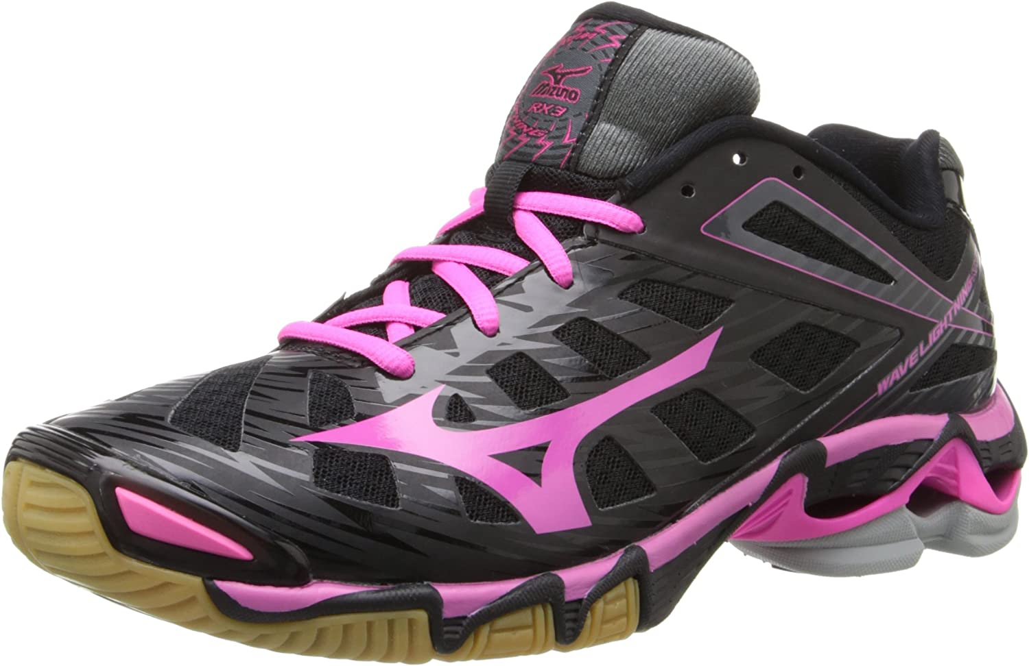 Mizuno Women's Wave Lightining Rx3 Ankle-High Fabric Running shoes