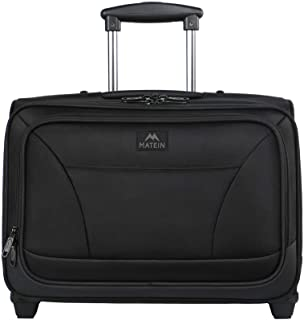 Rolling Laptop Bag, MATEIN Overnight Wheeled Briefcase for Business Travel,Fits 17 inch Notebook,Carry-on Luggage Attache ...