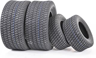 Set of 4 New Lawn Mower Turf Tires 16x6.5-8 Front & 23x10.5-12 Rear /4PR -13019/13049
