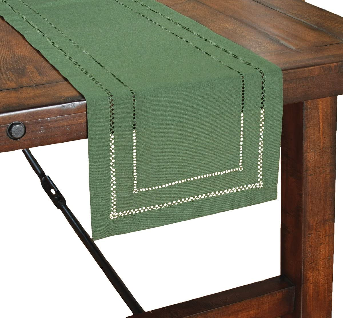 Xia Home Fashions Surprise price Double Hemstitch Easy Credence by Care Runner 14 Table