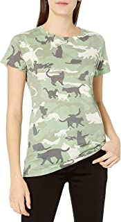 Goodie Two Sleeves Juniors' Camo Graphic T-Shirt