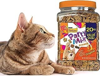 Purina Friskies Party Mix Crunch Cat Treats, 20 oz. (Original Crunch)