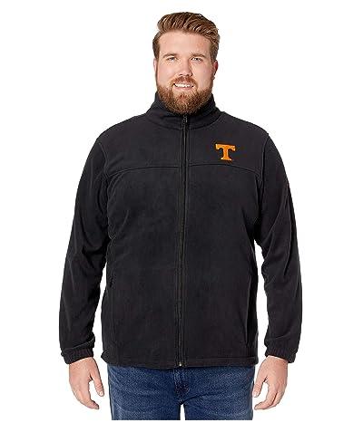 Columbia College Big Tall Tennessee Volunteers CLG Flankertm III Fleece Jacket (Black) Men