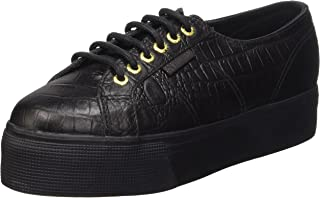 d10d4b23fd3b Superga Womens 2790 Fglwembcocco Leather Trainers
