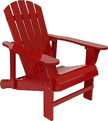 Amazon Com Lifetime Faux Wood Adirondack Chair Brown