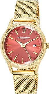 Akribos Xxiv Women's Analog Japanese-Quartz Watch With Stainless-Steel Strap