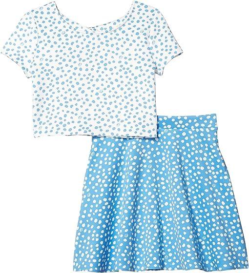 Zanzibar Blue Lillys Dot