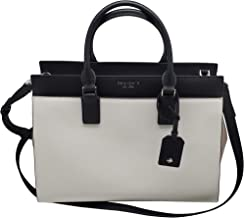Kate Spade Cameron Saffiano Leather Large Satchel Convertible Crossbody Bag Purse Handbag