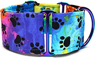 Collare per cani martingale: Groovy Dog, fatto a mano in Spagna da Wakakán