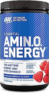Optimum Nutrition Amino Energy, Blue Raspberry, 30 Servings